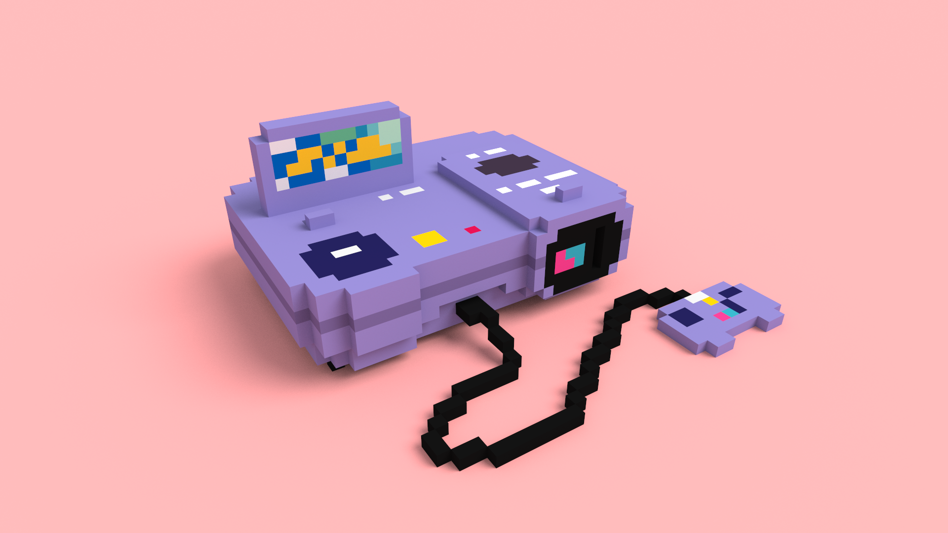 Voxel Casio Loopy